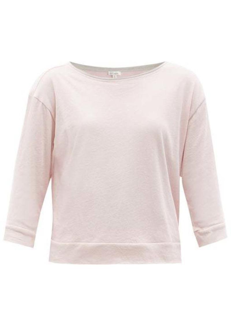 Skin Gavrielle organic Pima-cotton top