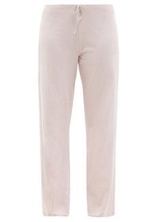 Skin Guinevere organic Pima-cotton trousers