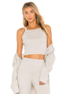 Skin Mariya Cotton Cashmere Crop Top