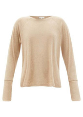 Skin Noomi ribbed jersey top