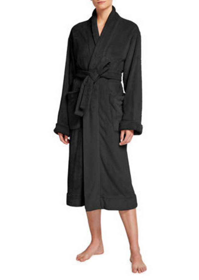 skin Winna Plush Robe with Scrunchie