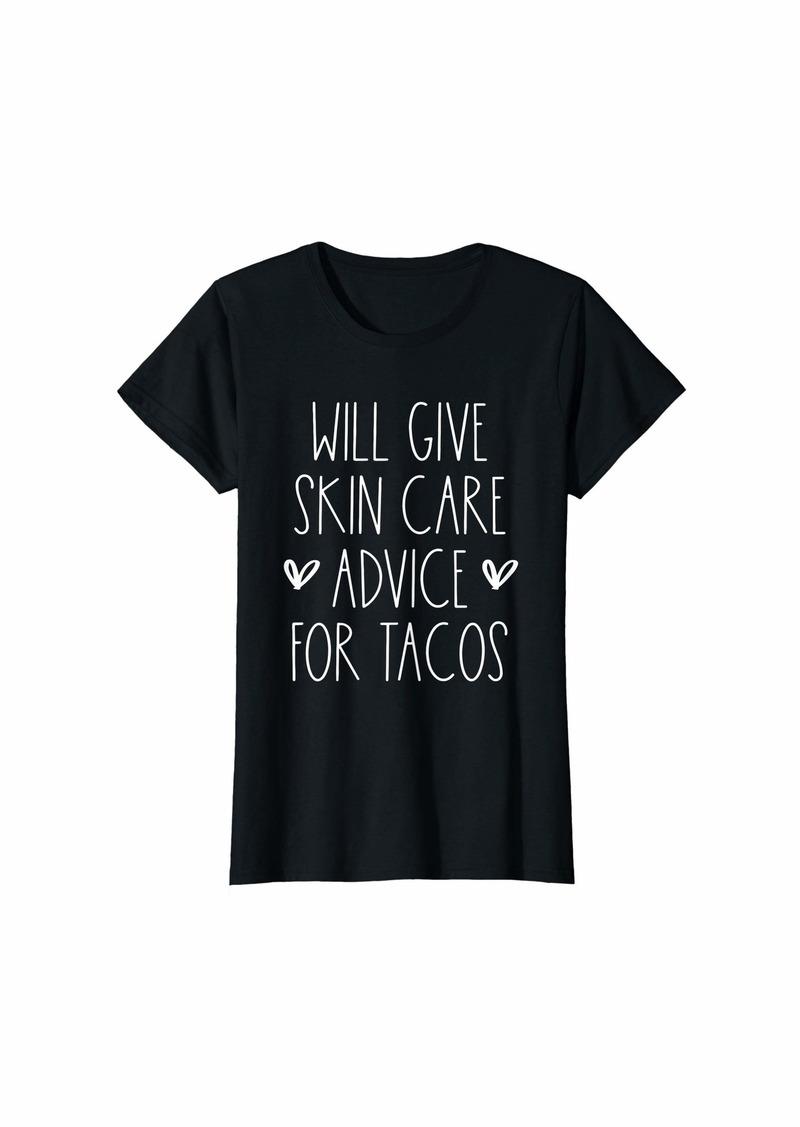 skin Womens Funny Birthday Gift for Dematologist Gift T-Shirt