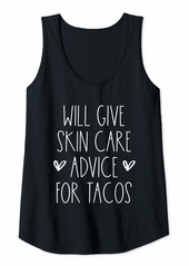 skin Womens Funny Birthday Gift for Dematologist Gift Tank Top