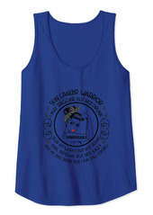 Womens Skin Cancer Warrior Not My Best Today But I Am Still Strong Tank Top