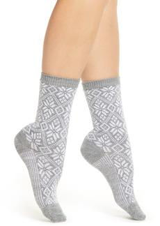 Women's Smartwool Traditional Snowflake Crew Socks