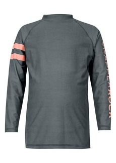 Snapper Rock Raglan Long Sleeve Rashguard (Baby Boy, Toddler & Little Boy)
