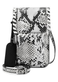 Sole Society Salex Faux Leather Phone Crossbody Bag