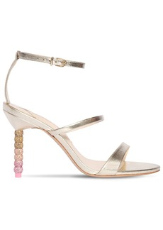 Sophia Webster 85mm Rosalind Metallic Leather Sandals
