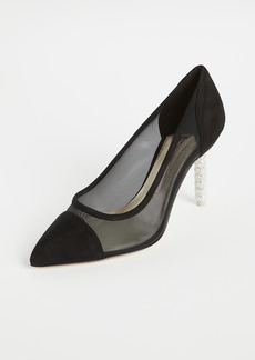 Sophia Webster 60mm Jasmine Crystal Mid Pumps