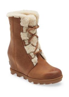 SOREL Joan of Arctic™ Wedge II Genuine Shearling Lace-Up Boot (Women)