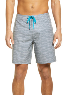 Southern Tide Patterned Board Shorts