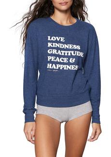 Spiritual Gangster Happiness Savasana Sweatshirt