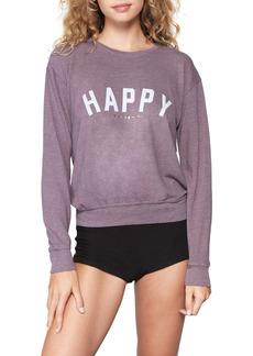 Spiritual Gangster Happy Savasana Crewneck Sweatshirt