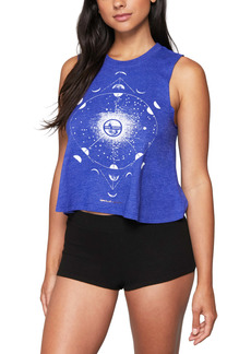 Spiritual Gangster Moon Phases Crop Tank