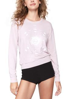 Spiritual Gangster Moon Savasanna Crewneck Sweatshirt