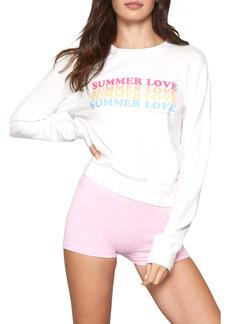 Spiritual Gangster Savasana Summer Love Graphic Sweatshirt