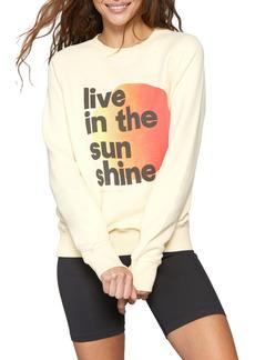Spiritual Gangster Sunshine Old School Graphic Sweatshirt