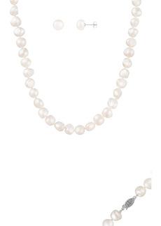 Splendid Pearl Necklace Set