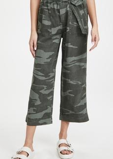 Splendid Camo Ryland Paperbag Pants