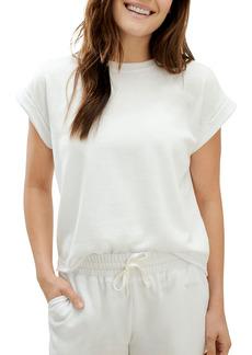 Splendid Eco Short Sleeve Sweatshirt