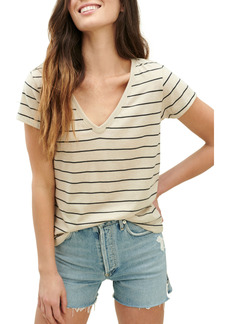 Splendid Eco Stripe V-Neck T-Shirt