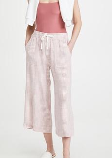 Splendid Pueblo Stripe Cropped Pants