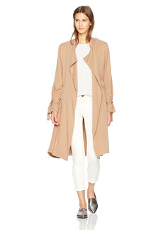 Splendid Women's Sandwash Twill Trench  S
