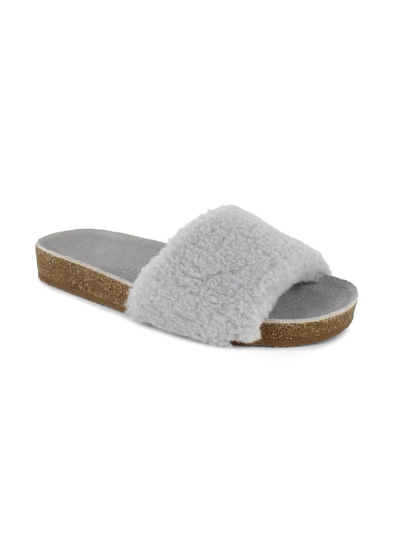 Women's Splendid Romy Faux Shearling Slide Sandal