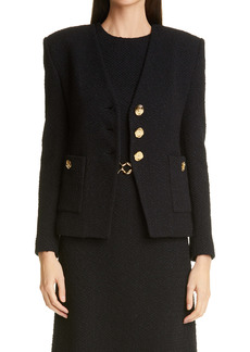 St. John Collection Modern Slub Knit Jacket
