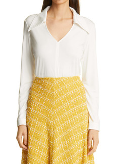 St. John Collection Silk Jersey Blouse