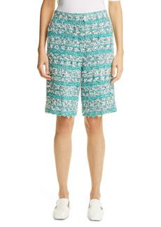 St. John Collection Tweed Shorts