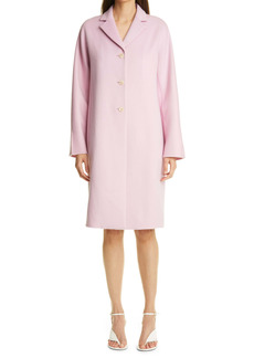 St. John Collection Wool & Cashmere Double Face Coat