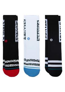 Stance The OG Assorted 3-Pack Crew Socks