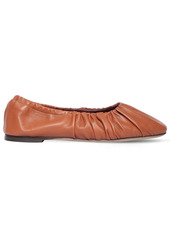 STAUD 10mm Leather Ballerinas