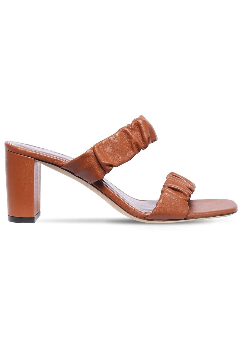 STAUD 60mm Leather Sandals