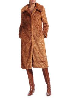 STAUD Frankie Faux Fur Coat