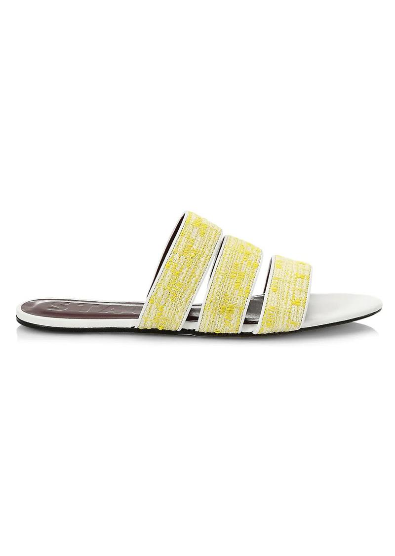 STAUD Mona Leather Slides