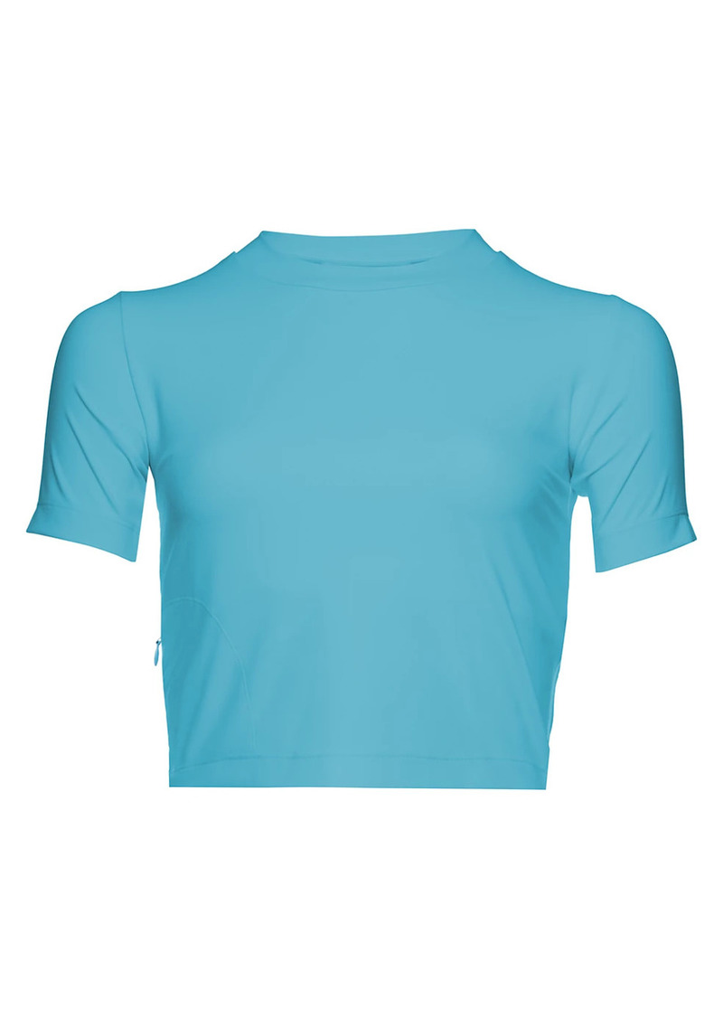New Balance x Staud Sleek Crop T-Shirt