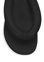STAUD Rita Padded Leather Thong Sandals