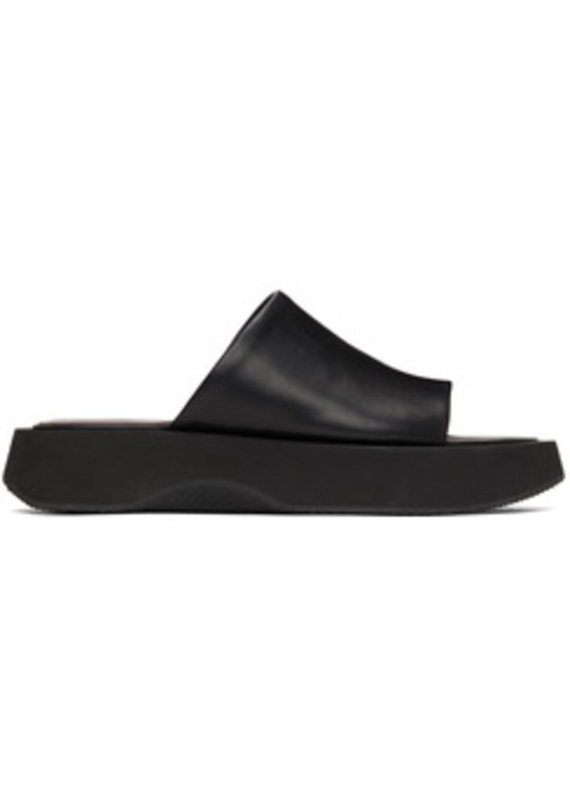 Staud Black Alpine Sandals