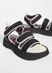 STAUD Crew Sandals