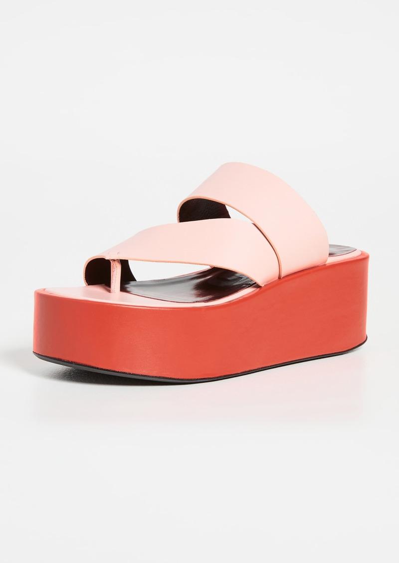 STAUD Fly Platform Sandals