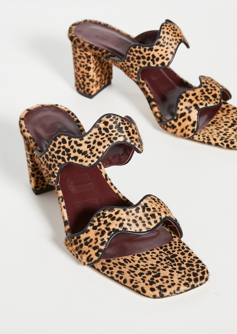 STAUD Frankie Wavy Sandals