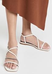 STAUD Gitane Chain Sandals