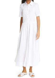 STAUD Guilia Maxi Shirtdress