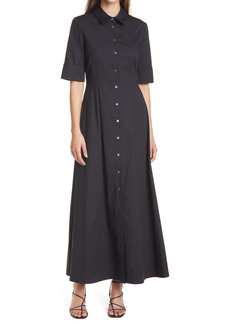 STAUD Joan A-Line Shirtdress
