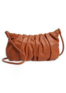 STAUD Large Bean Leather Crossbody Bag