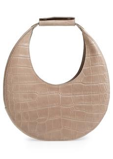 STAUD Leather Moon Bag