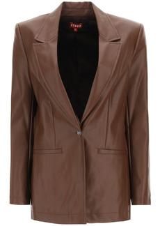 STAUD Madden Blazer In Vegan Leather
