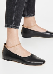 STAUD Maeve Anklet Flats